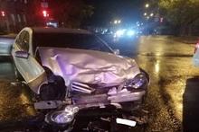 Столкнулись автомобили: пострадавших нет