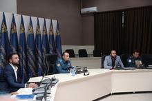 Կայացավ ՓԾ ղեկավար կազմի հադիպումը «ARMENIAN HELICOPTERS» ընկերության ներկայացուցիչների հետ