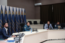 "Meeting of the Rescue Service Executive Staff with the Representatives of ""Armenian Helicopters"" Company Was Held"