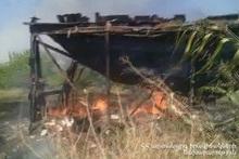 Пожар в селе Шаумян: пострадавших нет