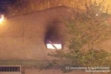 Пожар в селе Арзакан: пострадавших нет