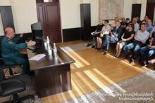 Мероприятие гражданской обороны в комитете кадастра недвижимости