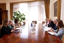 Ֆելիքս Ցոլակյանն ընդունեց  ԵՄ պատվիրակության գրասենյակի նորանշանակ ղեկավարին