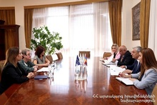 Feliks Tsolakyan Received Newly Appointed Head of EU Delegation