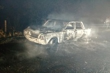 Ավտոմեքենան ամբողջությամբ այրվել է