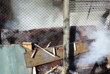 Fire on Tigran Mets Avenue