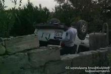 ДТП на автодороге Арташат-Шаумян: есть пострадавший