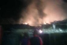 Пожар в селе Вардашен: пострадавших нет