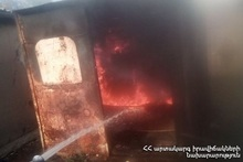 Fire in Trailer Home: there were no casualties