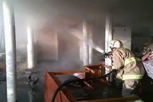 Fire in Kapan town: there were no casualties
