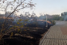 About 2 ha of grass area in Nork-Marash burnt
