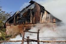 Пожар в селе Вардаблур: пострадавших нет