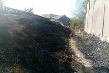Հովսեփ Էմինի փողոցում այրվել է մոտ 500 քմ բուսածածկույթ