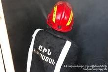 Пожар в городе Варденис: пострадавших нет