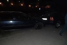На Тбилисском шоссе столкнулись два автомобиля: пострадавших нет