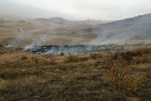 About 1 ha of grass area burnt in Chinari village
