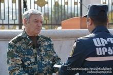 Феликс Цолакян принял участие в праздничном мероприятии, посвященном Дню сотрудника государственной службы по чрезвычайным ситуациям Республики Арцах