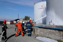 Ուսումնական վարժանք՝ «Ֆլեշ» ՍՊԸ-ի նավթամթերքի բազայում
