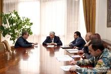 Feliks Tsolakyan received citizens