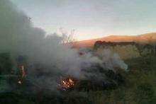Այրվել է մոտ 400 հակ անասնակեր