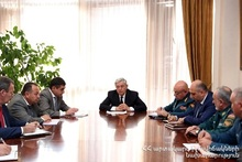 Consultation in the Ministry of Emergency Situations: issues relating structural changes were discussed