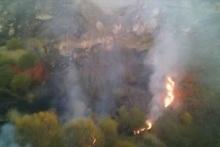 Մ-2 ավտոճանապարհի Գորիս-Սիսիան հատվածում՝ դեպի Իշխանասար լեռ, բռնկված հրդեհն ինքնամարվել է
