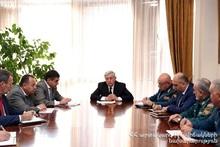Совещание в министерстве по ЧС: обсуждались вопросы структурных изменений