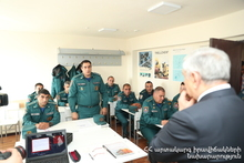 Feliks Tsolakyan visited Crisis Management State Academy of MES and the Fire and Rescue Squad of Avan
