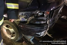 Rescuers disconnected the automotive batteries of the cars
