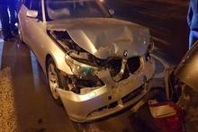ДТП на перекрестке проспекта Саят-Новы и улицы Ханджяна: пострадавших нет
