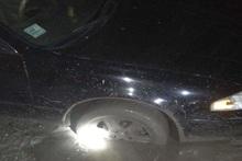 Спасатели вытащили застрявший автомобиль