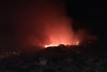 Ծովագյուղ գյուղի մոտակայքում երկու օջախով այրվել է խոտածածկ տարածք