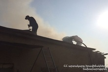 Fire in Noragyugh district: there were no casualties