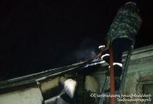 Пожар в городе Ташир: пострадавших нет