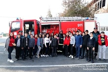 Cognitive visit to the Ministry of Emergency Situations: the children are aware