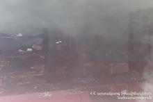 Пожар на улице Тихого Дона: пострадавших нет