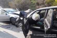 В Разданском ущелье столкнулись автомобили: пострадавший был госпитализирован