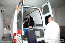 Несчастный случай в городе Гюмри