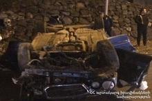 ДТП на проспекте Мясникяна: пострадавших нет