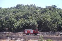 Վահագնի գյուղից դեպի հյուսիս գտնվող անտառում բռնկված հրդեհն ինքնամարվել է