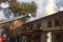 Աբովյան փողոցում գտնվող ռեստորանի տանիքում բռնկված հրդեհը մարվել է