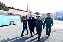 ԱՄՆ ռազմական համագործակցության գրասենյակը գույք և տեխնիկա է նվիրել ԱԻՆ Փրկարար ծառայությանը