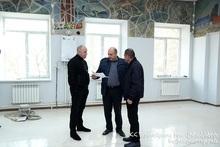 Главный секретарь аппарата МЧС Ваагн Оганян посетил пожарно-спасательные отряды