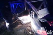 RTA on Goris-Stepanakert roadway: there was a victim