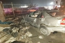 RTA in Noragavit district: the driver died on the spot