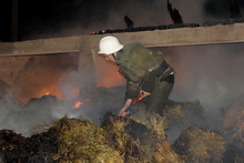 Fire in Meghvahovit village: there were no casualties