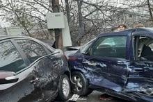 Столкнулись автомобили