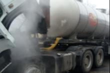Մասամբ այրվել է բեռնատարի շարժիչի հատվածը