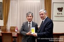 Министр по чрезвычайным ситуациям принял посла Японии: ценится эффективное сотрудничество