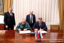 Министр по ЧС Феликс Цолакян принял делегацию Академии гражданской защиты Российской Федерации